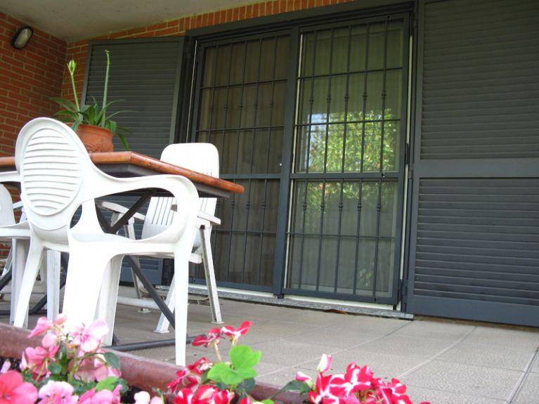 grate esterni balconi Grate di sicurezza Pavia Schinelli S.r.l.